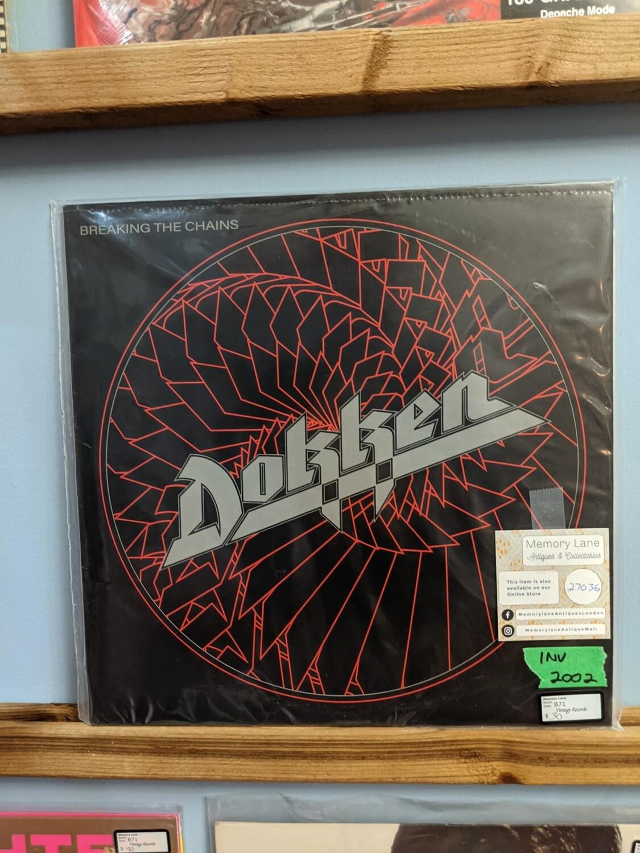 Dokken -  LP - Break The Chains