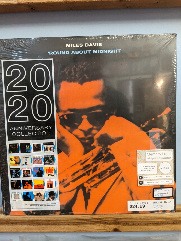 Miles Davis -  LP - Round About Midnight