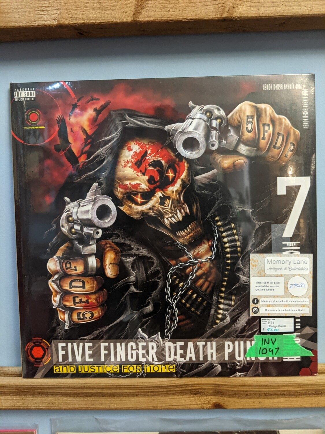 Five Finger Death Punch -  LP - And Justice For None