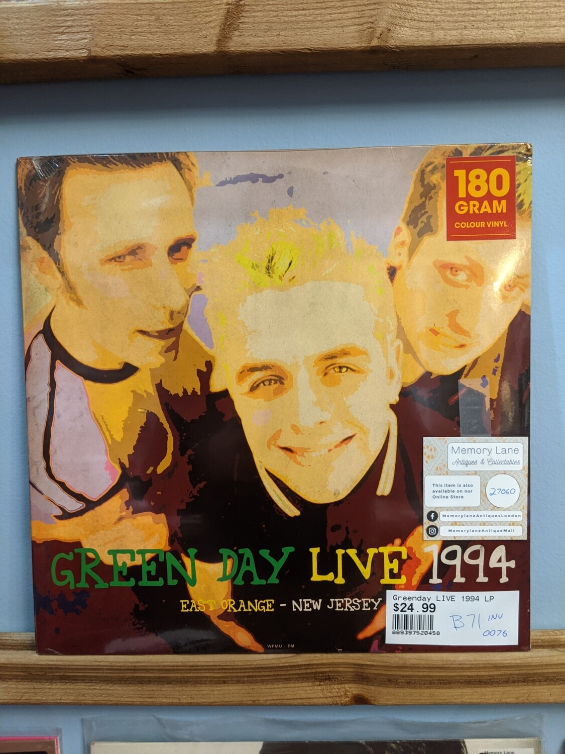 Green Day - LP - Live 1994