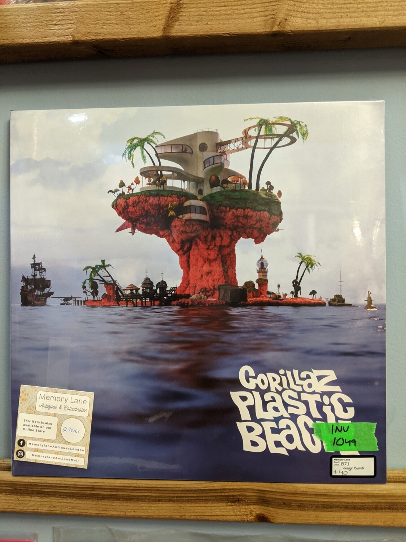 Gorillaz - LP - Plastic Beach