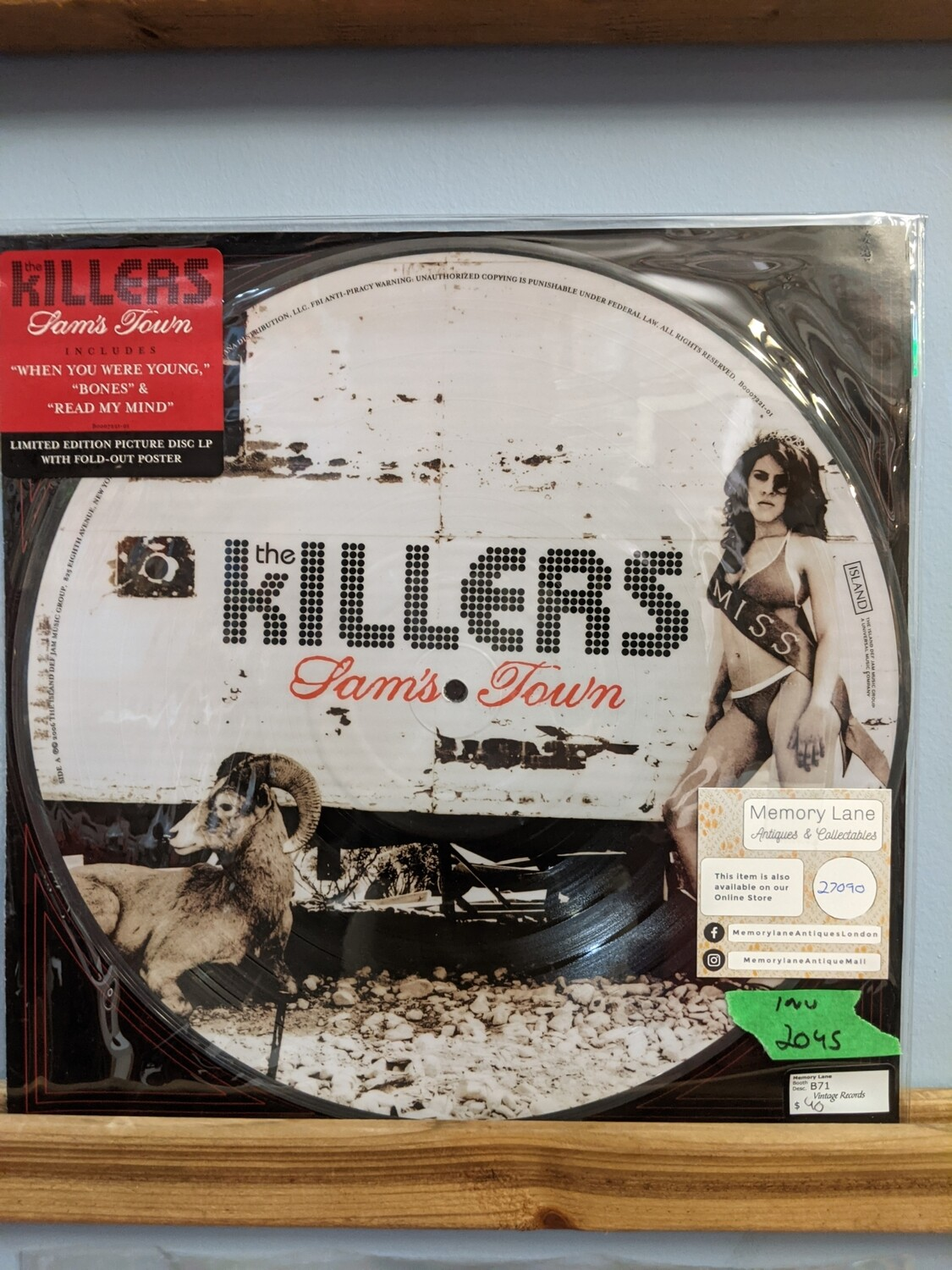 The Killers - LP - Sams Town Picture Disk