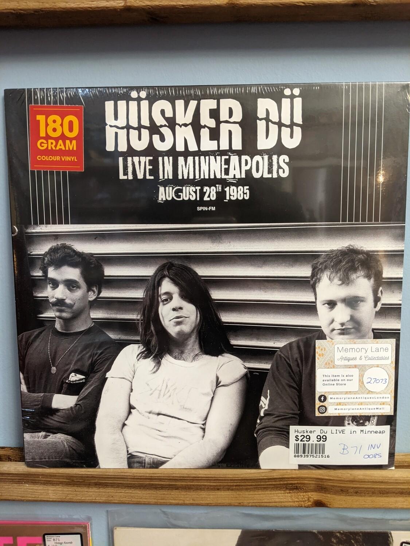 Husker Du - LP - Live in Minneapolis