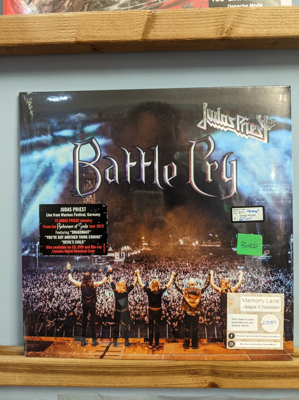 Judas Priest - LP - Battle Cry