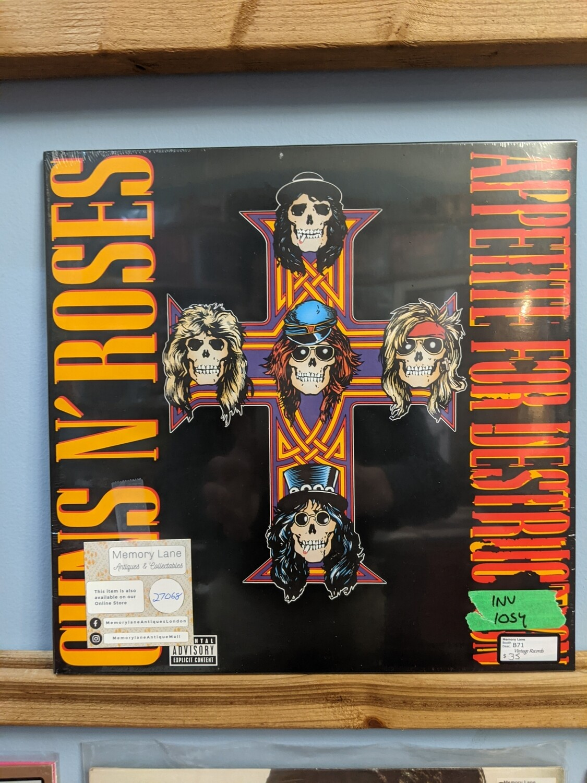 Guns and Roses - LP - Appetite For Destruction