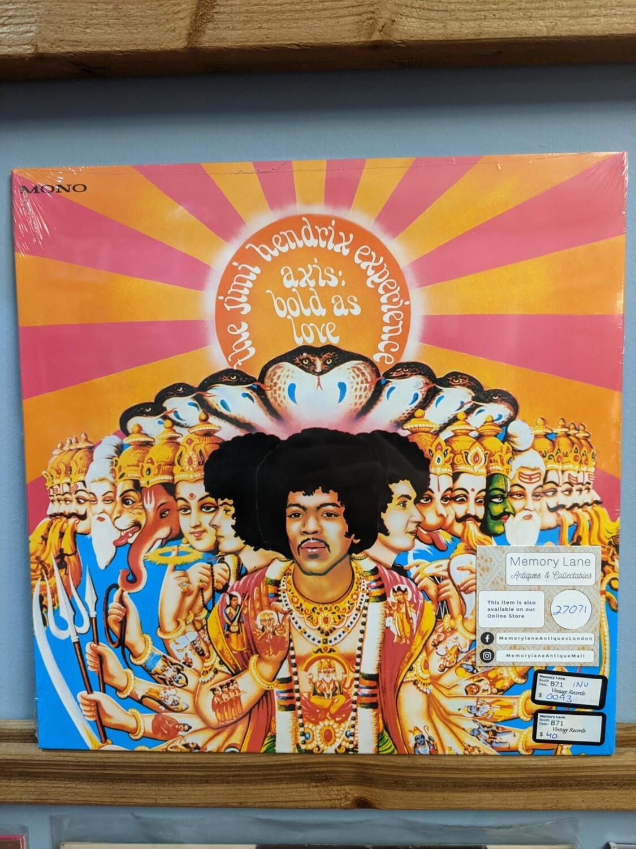 Jimi Hendrix - LP - Axis as Bold as Love