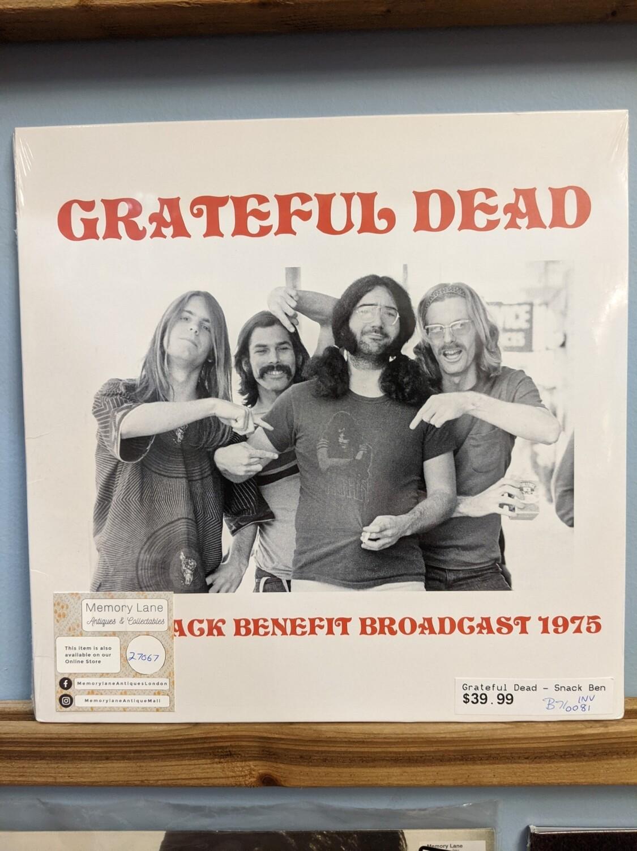 Greatful Dead - LP - Benefit Concert 1975