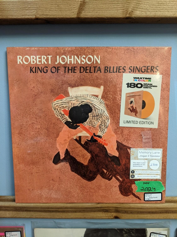 Robert Johnson - LP - King of the Delta Blues Singers