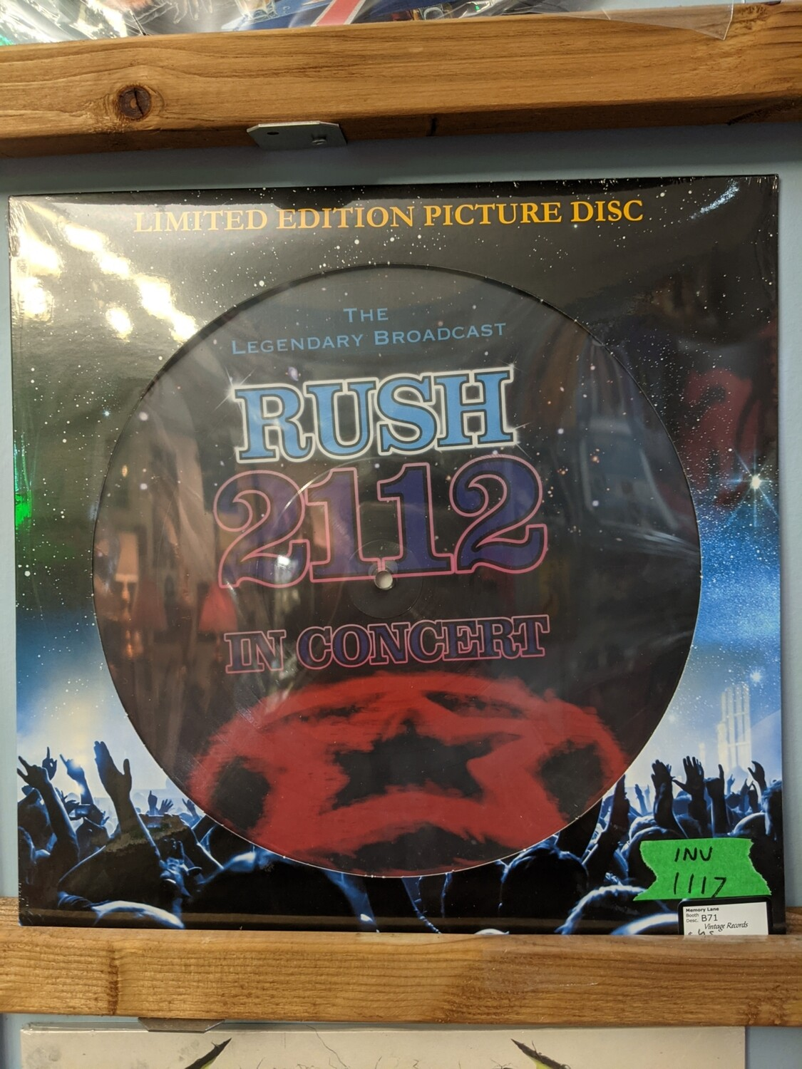 Rush - LP - 2112 Picture Disk