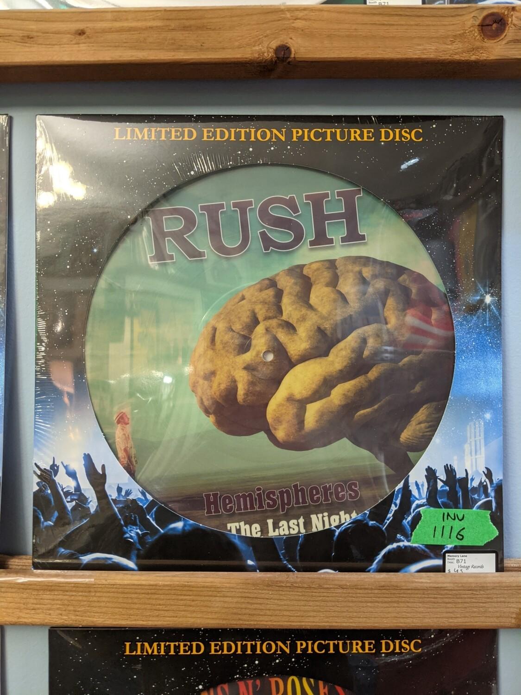 Rush - LP - Hemispheres Picture Disk