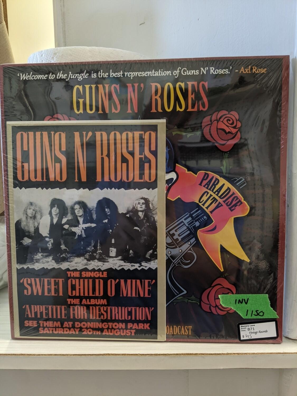 Guns N Roses - The Legendary Broadcast - LP