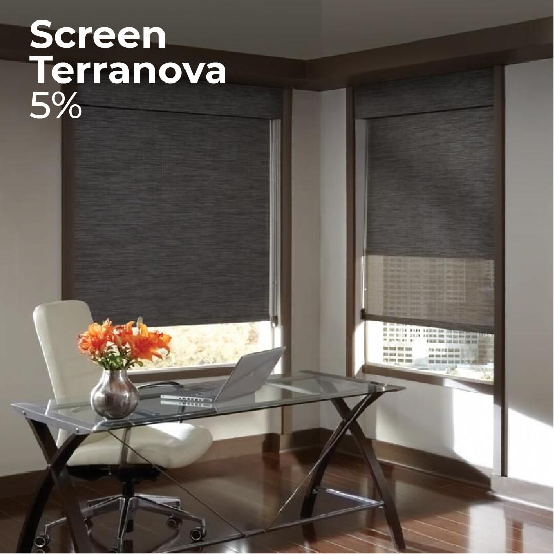 Cortina Screen Terranova - 1.8m ancho x 1.65m alto