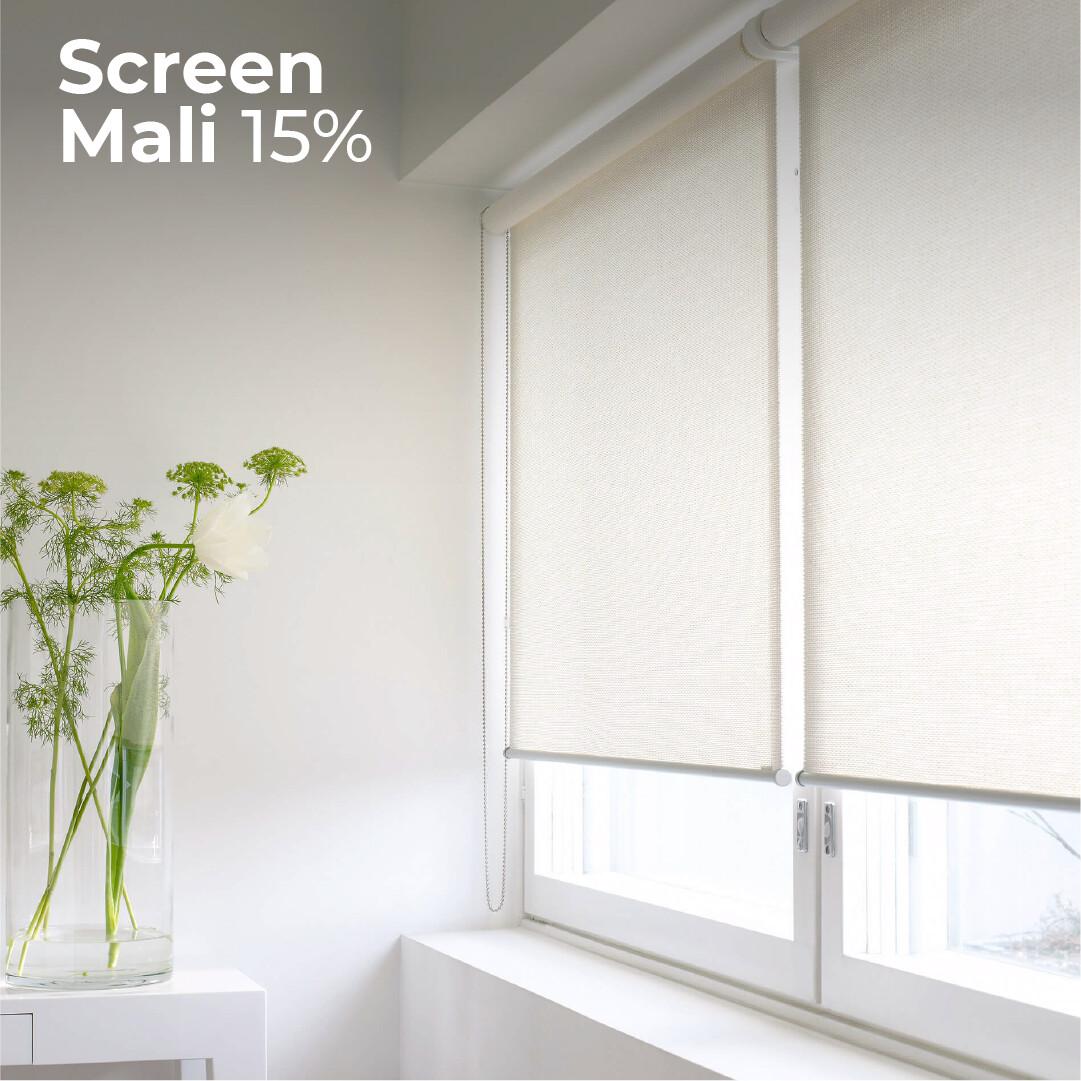Screen Mali 15% - 1.5m ancho x 2.4m alto