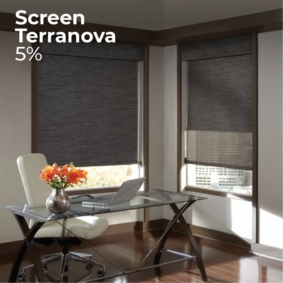 Cortina Screen Terranova - 1.2m ancho x 1.4m alto