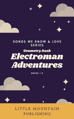 Electroman Adventures - Geometry Dash