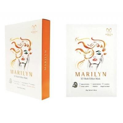 MARILYN X5 Multi Effect Mask | 10 pcs
