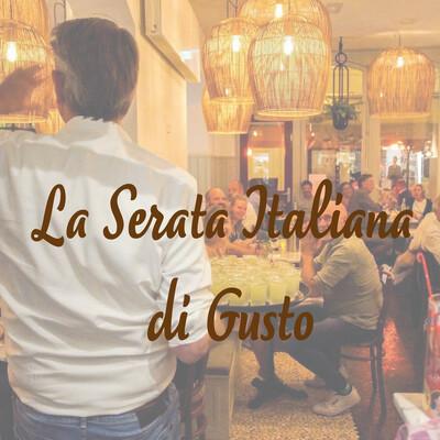 La Serata Italiana WOENSDAG 16 juni 18.00 uur
