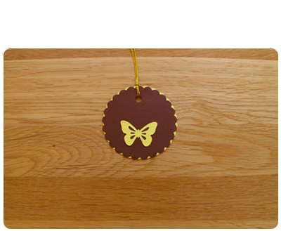 Chocolate & Lemon Gift Tags (set of 6)