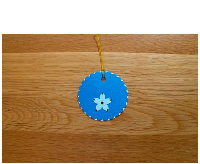 Blue, Cream & Aqua Gift Tags (set of 6)