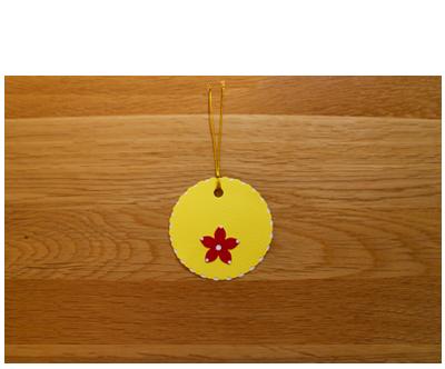 Lemon, White & Red Gift Tags (set of 6)