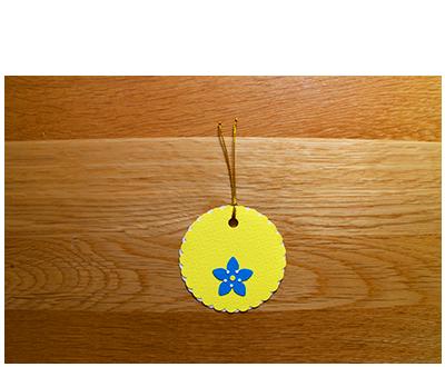 Lemon, White & Blue Gift Tags (set of 6)