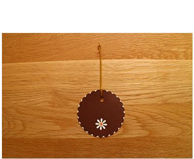 Chocolate, Cream & Orange Gift Tags (set of 6)