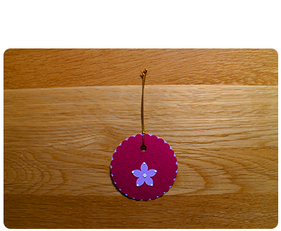 Raspberry & Lilac Gift Tags (set of 6)
