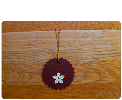 Chocolate, Orange & Cream Gift Tags (set of 6)
