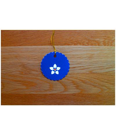 Cobalt & Grey Gift Tags (set of 6)