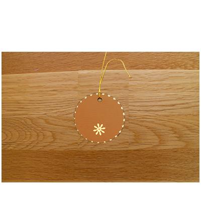 Caramel & Cream Gift Tags (set of 6)