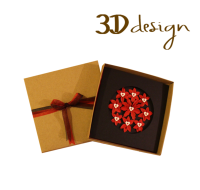 Say It With Flowers | Handmade 3D Boxed Greeting Card