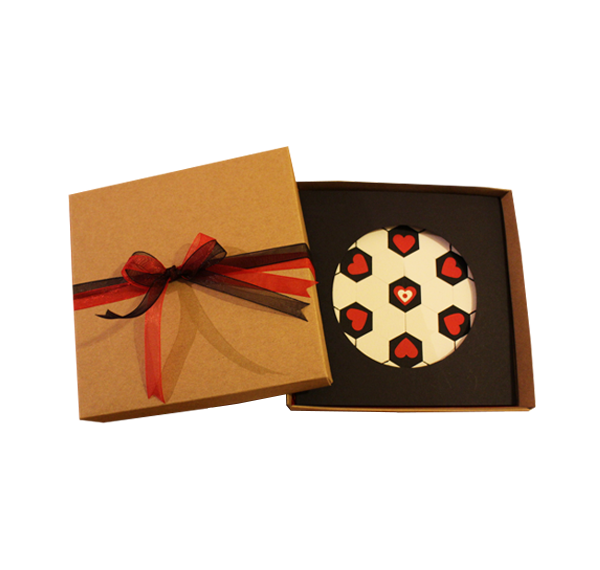 A Beautiful Game Called Love   Handmade Boxed Greeting Card