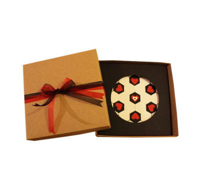 A Beautiful Game Called Love | Handmade Boxed Greeting Card