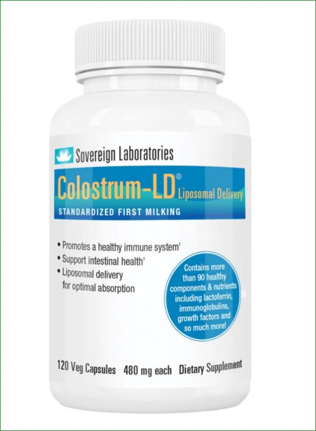 Sov Lab Colostrum-LD 480 mg capsules 120 stuks