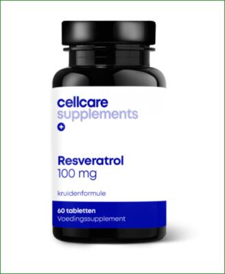 Cellcare Resveratrol 100 mg - 60   tabletten , antioxidant