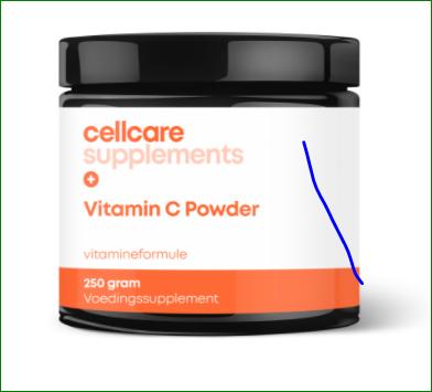 Cellcare Vitamine C Powder - poeder - 250 gram