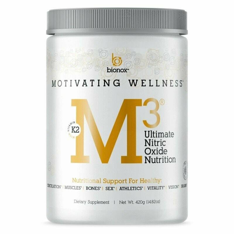 Bionox M3 Miracle Molecule 420 gr  Citrussmaak + Vitamine K2 voor een betere doodbloeding