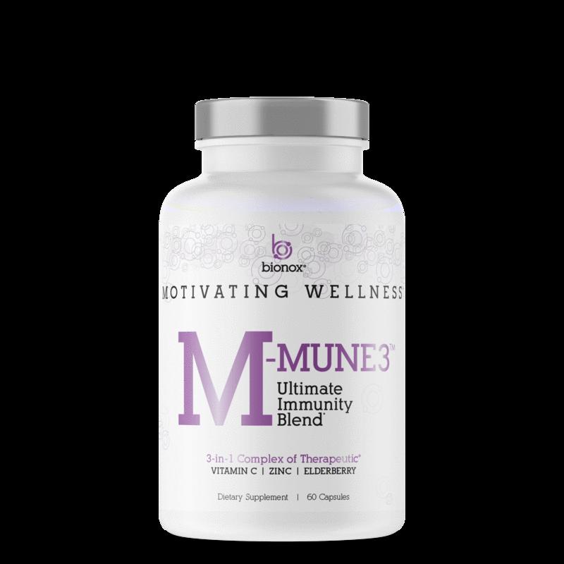 Bionox M Mune 3 voor een super sterk immuunsysteem, 60 stuks