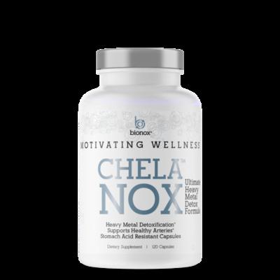 BioNox Chelanox 120st, het ultieme ontgiftigings-supplement voor alle zware metalen
