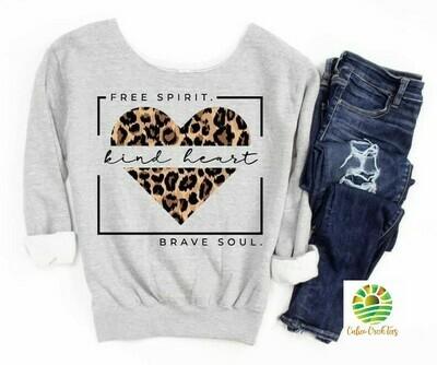 Free Spirit Kind Heart Brave Soul