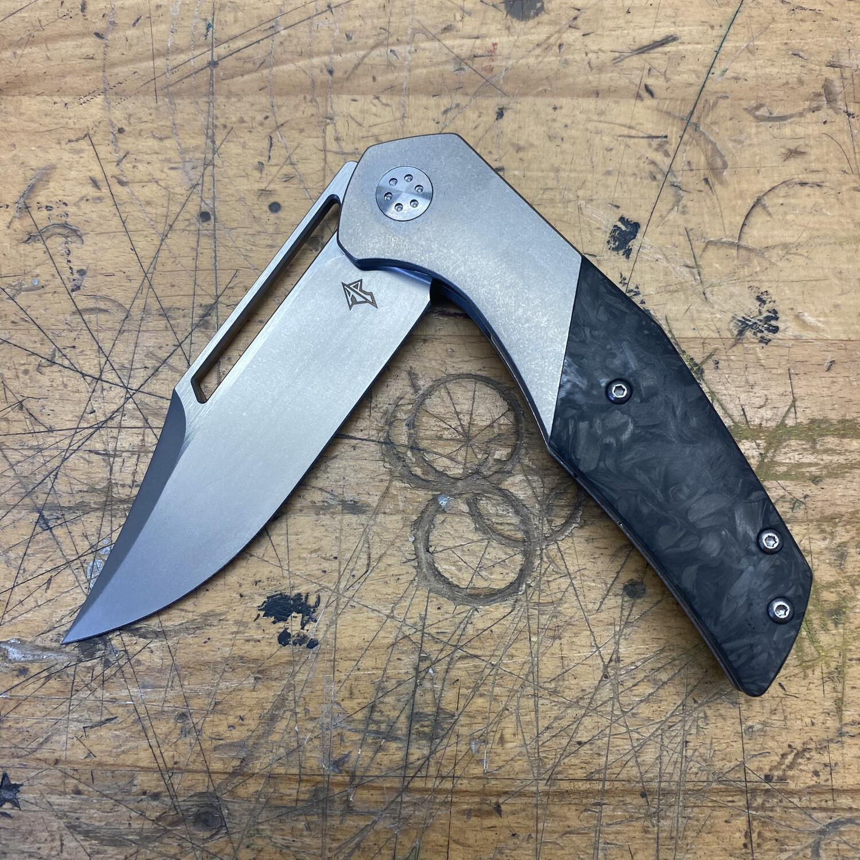 APurvis Blades Primordial Mk2 Blasted w/Satin Flats