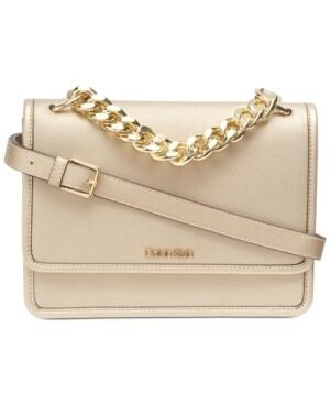 Calvin Klein Ariela Leather Crossbody Bag