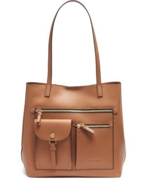 Calvin Klein Rossa Tote Bag