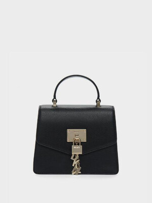 DKNY Women's Elissa Mini Pebbled Leather Satchel