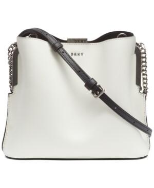 Dkny Farrah Leather Bucket Bag
