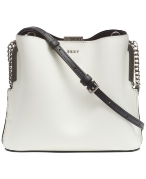 Dkny Farrah Leather Bucket Bag