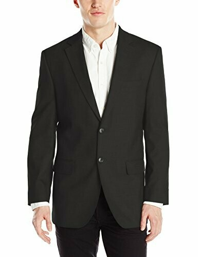 Haggar Classic Fit Sharkskin Stretch Suit Separate Jacket 44 L