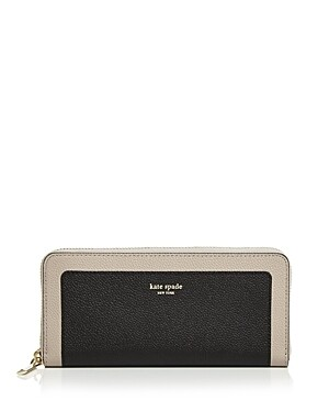 Kate Spade New York Slim Leather Continental Wallet