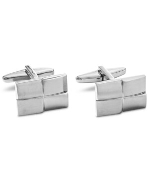 Kenneth Cole Reaction Men's Four Square Cuff Links