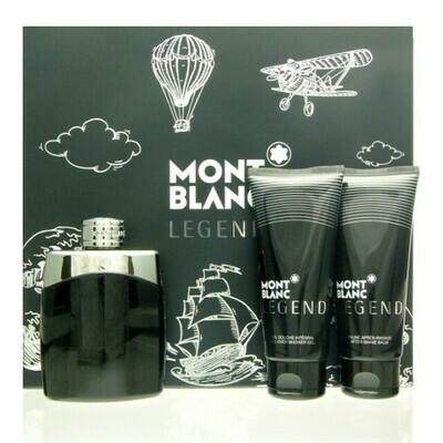 MontBlanc Legend by Mont Blanc Gift Set -- 3.3 oz Eau De Toilette Spray + 3.3 oz